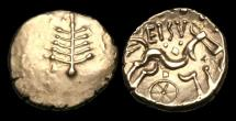 Ancient Coins - CE-DUJQ - CELTIC - Dobunni - Gold Stater, ca.15-30AD