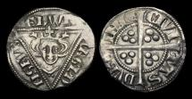 World Coins - IR-FJTK - IRELAND - EDWARD I, 2nd (EDW) Penny Cl.1a, Grp. B, ca.1279-1302AD.