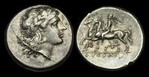 Ancient Coins - GR-DKQT - ITALY - CAMPANIA, Suessa Aurunca, AR Didrachm, ca.280-268BC.        VERY-RARE