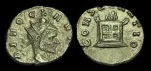 Ancient Coins - AN-JKTW - DIVUS CLAUDIUS II (GOTHICUS) Billon Antoninianus, ca.270AD.