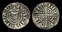 World Coins - HE-BDWD - HENRY III - Long Cross Voided Penny, ca.1248-50AD, Cl. IIIc