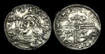 Ancient Coins - SA-QBJD - EDWARD THE CONFESSOR - PACX Penny, ca.1042-44AD.