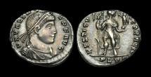 Ancient Coins - LT-PFTW - VALENS - AR Siliqua, ca.364-7AD.