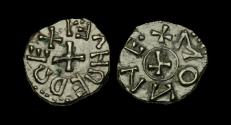 World Coins - SS-DFFT - EANRED of NORTHUMBRIA AE Sceat, ca.810-30AD
