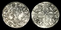 World Coins - SA-PFKW - CNUT - Quatrefoil Type Penny, ca.1017-23AD.                   COLCHESTER