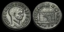 Ancient Coins - LT-TUPT - DIVUS ROMULUS AE Follis, ca.309-12AD. AETERNAE MEMORIAE