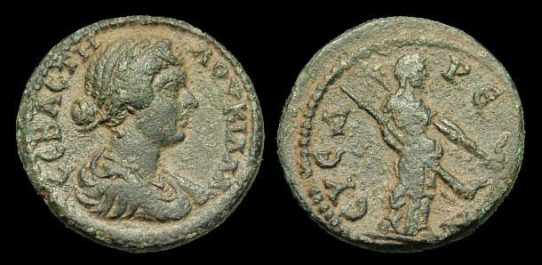 Ancient Coins - IJ-195 - LUCILLA - Cilicia, AE23, w. of Lucius Verus, c164-9AD?