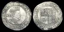 World Coins - LN-PUBJ - JAMES I - 2nd Iss. Shilling, 1604-5AD.                      FINE BUST