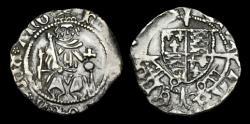 World Coins - TU-JBUD - HENRY VII - 'Sovereign' Penny, ca.1490s-1500.                York, Archb. Rotherham.