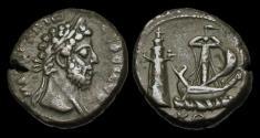 Ancient Coins - IM-PFJF - COMMODUS - Egypt, Alexandria.                  MAN-MADE WONDER of the WORLD