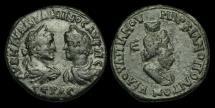 Ancient Coins - IM-WKUB - CARACALLA + GETA - Moesia Inferior, Marcianopolis, AE27 Pentassarion, ca.211-2AD.