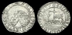 World Coins - AG-TKUP - HENRY VI AR Grand Blanc aux ecu, ca.1422-61AD