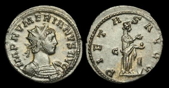 Ancient Coins - AN-KDTD - NUMERIAN AVG AE Tin Antoninianus, c284, c22mm, c3.1g.