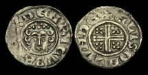 World Coins - SX-FKWU - HENRY III - Short-X Penny Cl.7b, 1229-32AD.