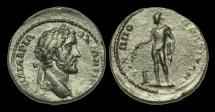 Ancient Coins - IM-BDFP - ANTONINUS PIUS - Thrace, Philippopolis AE25.