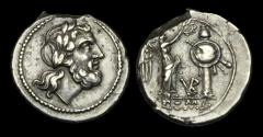 Ancient Coins - RE-QDWP - REPUBLIC - AR Victoriatus, ca.211-208BC.               SUPER JUPITER !