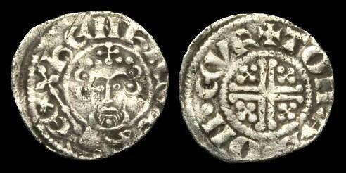 World Coins - SX-DQTQ - JOHN - Short-X Penny Cl.5b1, c1205-7AD.....YORK.....