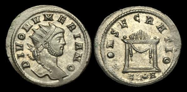 Ancient Coins - AN-FKFJ - DIVO NUMERIAN - AE Tin Antoninianus, struck under Carinus, c285AD.