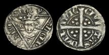 World Coins - IR-PWFU - IRELAND - EDWARD I, 2nd (EDW) Penny Cl.Ic, ca.1279-84AD.