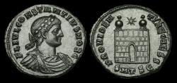 Ancient Coins - LT-TFBJ - CONSTANTINE II AE3, ca.326-8AD. PROVIDEN-TIAE CAESS