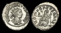 Ancient Coins - AN-FTWB - QUIETUS - Billon Antoninianus, ca.260-1AD.                GOOD BUST