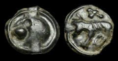Ancient Coins - CE-PDQQ - CELTIC CENTRAL NORTH GAUL - CARNUTES AE Potin, ca.75-25BC??