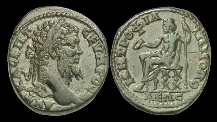 Ancient Coins - IJ-433 - SEPTIMIUS SEVERUS - Thrace, Philippopolis AE29, c193-211, c29mm, c7.9g.