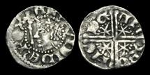 Ancient Coins - SC-TPJF - SCOTLAND - ALEXANDER III - 1st Iss. Long Cross & Stars Penny Ty.III.  EDINGURGH