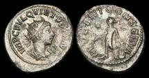 Ancient Coins - AN-BUTP - Usurper QUIETUS Billon Antoninianus, ca.260-1AD