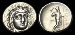 Ancient Coins - GR-BDBW - ASIA MINOR - Satraps of Caria, Pixodaros AR Didrachm, ca.340-335BC