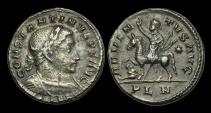 Ancient Coins - LT-TPQW - CONSTANTINE I - AE Follis, ca.310-12AD.                       ADVENTUS - LONDON