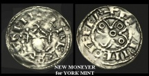 NO-WKJF - HENRY I	- Annulet and Piles type Penny, ca.1105AD.     !! NEW MONEYER for YORK !!