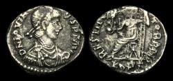 Ancient Coins - LT-PJWF - JOVINUS - AR Siliqua, ca.411-13AD.          VERY RARE