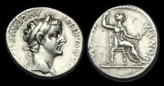 Ancient Coins - TI-PFTK - TIBERIUS - AR Denarius Gr. 4 'Tribute Penny' ca.18-35AD.