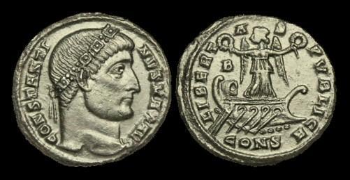 Ancient Coins - LT-FBUK - CONSTANTINE I AE3, c327-8, c19mm, c2.7g.