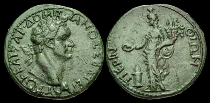 Ancient Coins - IJ-177 - DOMITIAN - Thrace, Perinthus, AE32, c81-96AD.
