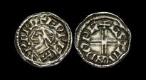 SA-DPJF - EDWARD THE CONFESSOR - Small Flan Short Cross Penny, ca.1048-1050AD.