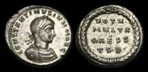 Ancient Coins - LT-JPUB - CONSTANTINE II CAESAR AE 3, ca.318-9AD.