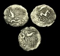 CE-WTUB - ICENI - Unlisted BARLEY BOAR, Silver Half Unit Ty. 2, c60-45BC.             EXCESSIVELY RARE