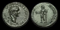 Ancient Coins - IM-TJBT - DOMITIAN - THRACE, Assarion of Philippopolis, AE26, ca.88-9AD.