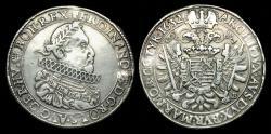 World Coins - EH-FUWB - GERMANY, Ferdinand II AR Taler, 1632 KB