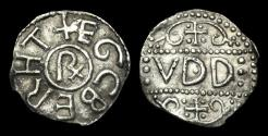 World Coins - SA-PBFF - KINGS of KENT, ECGBERHT - AR Penny, ca.780AD.                       EXTREMELY RARE