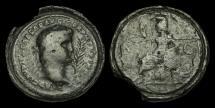 Ancient Coins - OR-KTWB - NERO AE Contorniate struck 360-425AD.              RARE+