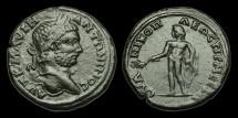 Ancient Coins - IM-KJTW - CARACALLA - Thrace, Nicopolis as Mestum, AE30 (Tetrassarion), ca.198-217AD.  RARE+