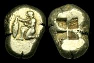 Ancient Coins - GR-PJFB - ASIA MINOR - MYSIA, Kyzikos Electrum Stater, ca.500-450BC