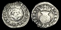 World Coins - SC-PWJD - CHARLES I Silver Two Shillings, 1625-34