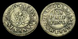 World Coins - TO-QWFW - LONDON 857 - Drury Lane, No date. Halfpenny.