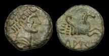 Ancient Coins - CE-JTWK - SPAIN - Tuauro, AE24, ca.150-100BC.