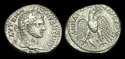 Ancient Coins - IM-PJWD - CARACALLA - SYRO-PHOENICIAN, Seleucis and Pieria. Antioch AR Tetradrachm. Prieur 240