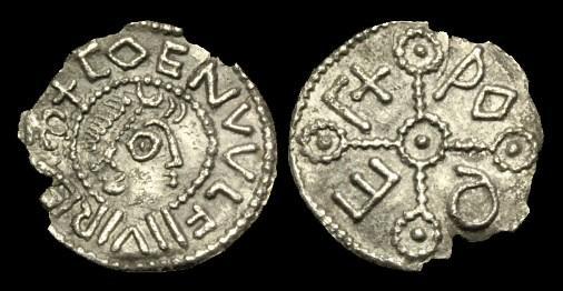 Ancient Coins - SA-KDUP - COENWULF OF MERCIA - East Anglian Penny, c798-821AD.